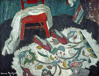 Anne Redpath - The Indian Rug, 1942, National Gallery of Scotland.