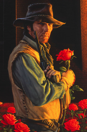 Roland Deschain - Roland Deschain as illustrated by Michael Whelan