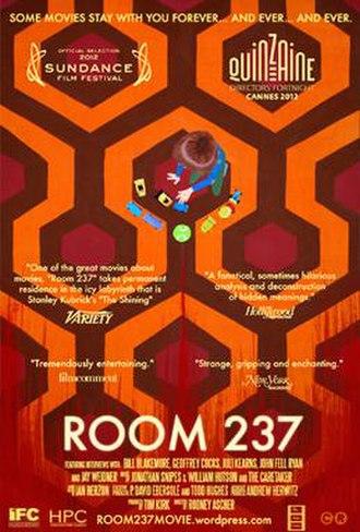 Room 237 - Film poster
