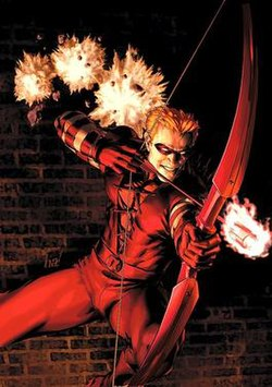 Roy Harper (Speedy - Arsenal - Red Arrow), DC Comics character.jpg
