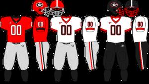 2009 Georgia Bulldogs football team - Image: SEC Uniform UGA 2009