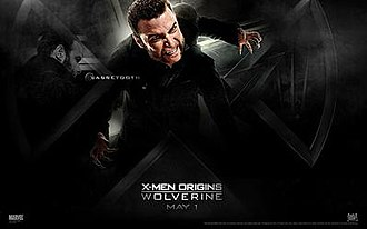Sabretooth (comics) - Liev Schreiber as Victor Creed in X-Men Origins: Wolverine.