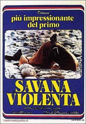 Savana violenta - Theatrical poster