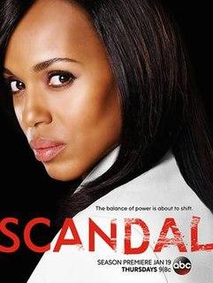 <i>Scandal</i> (season 6) Season of American television series Scandal