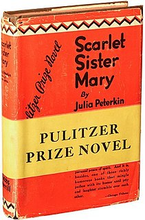 <i>Scarlet Sister Mary</i> Book by Julia Peterkin