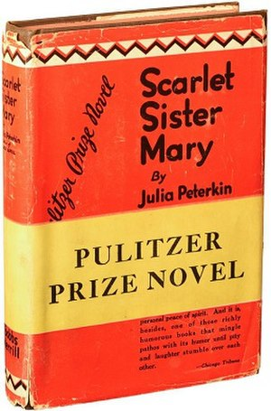 Scarlet Sister Mary - 1st edition (Bobbs-Merrill)