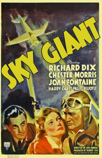Sky Giant - Theatrical film poster