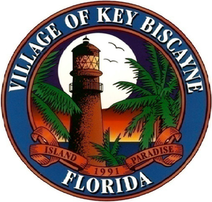 Official seal of Village of Key Biscayne