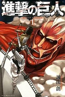 <i>Attack on Titan</i> Japanese manga series and anime