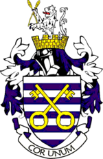 The Arms of the Soke of Peterborough County Council