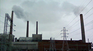 DTE Electric Company - The St. Clair Power Plant.