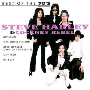 More Than Somewhat – The Very Best of Steve Harley - Image: Steve Harley and Cockney Rebel Best of the 70s Album Cover
