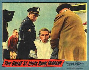 The Great St. Louis Bank Robbery - Lobby card