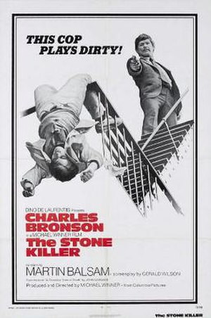 The Stone Killer - Theatrical release poster