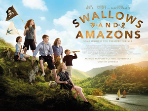 Swallows and Amazons (2016 film) - British release poster