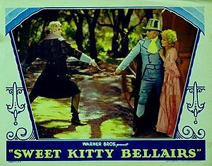 Sweet Kitty Bellairs - theatrical release poster