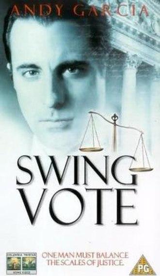 Swing Vote (1999 film) - VHS Cover art