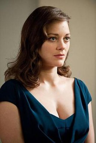Talia al Ghul - Marion Cotillard as Miranda Tate in The Dark Knight Rises.