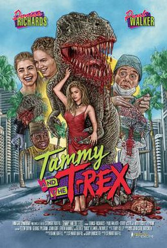 Tammy and the T-Rex - Theatrical release poster