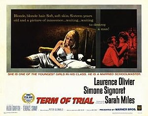 Term of Trial - Image: Term of Trial Film Poster