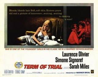 <i>Term of Trial</i> 1962 film by Peter Glenville