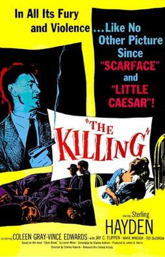 The Killing (film) - Theatrical release poster