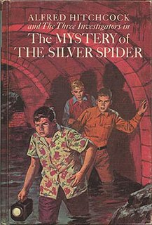 <i>The Mystery of the Silver Spider</i>