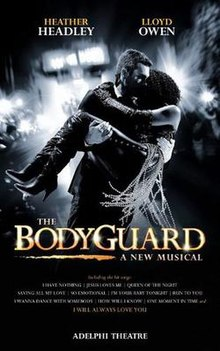 the bodyguard musical wikipedia