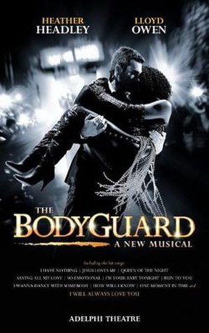 The Bodyguard (musical) - Original London production poster