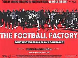 The Football Factory (film) - Promotional poster