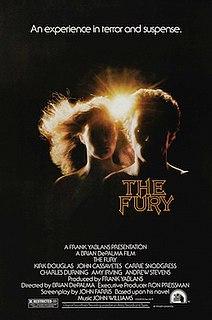 <i>The Fury</i> (film) 1978 film by Brian De Palma