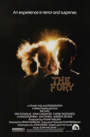 The Fury (1978 film) - Theatrical release poster