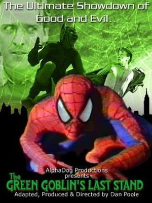 The Green Goblin's Last Stand - Poster for the film