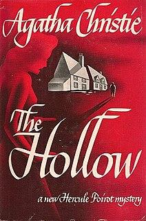 <i>The Hollow</i> 1946 Poirot novel by Agatha Christie