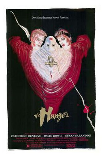 The Hunger (1983 film) - Theatrical release poster