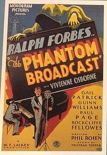 <i>The Phantom Broadcast</i> 1933 film directed by Phil Rosen