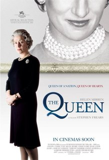 <i>The Queen</i> (2006 film) 2006 biographical drama film