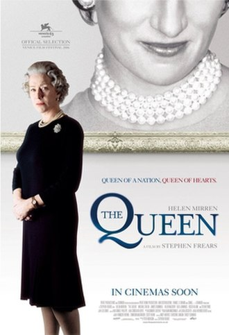 The Queen (2006 film) - British theatrical release poster