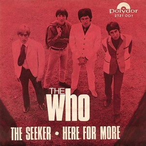 The Seeker (The Who song) - Image: The Seeker