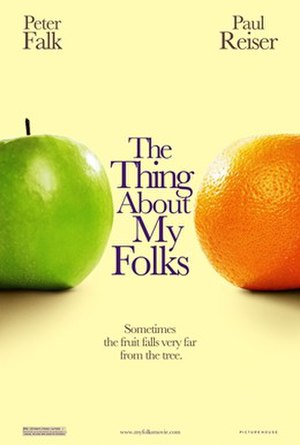 The Thing About My Folks - Theatrical release poster