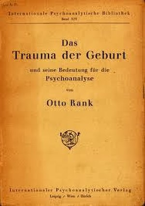 The Trauma of Birth - Cover of the first edition