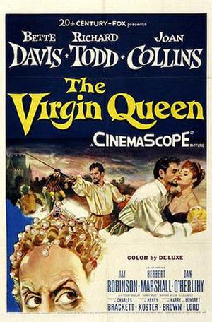 The Virgin Queen (1955 film) - Original poster