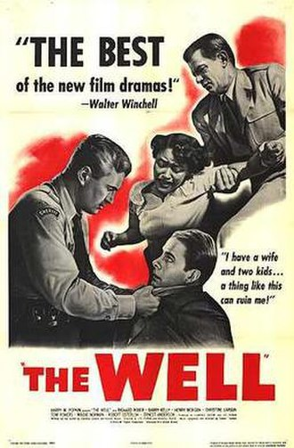 The Well (1951 film) - Theatrical release poster