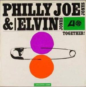 Together! (Elvin Jones and Philly Joe Jones album) - Image: Together! (Elvin Jones and Philly Joe Jones album)