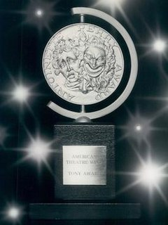 Tony Award awards for live Broadway theatre