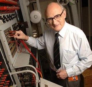 Tony Sale Electronics engineer, computer hardware engineer, and curator