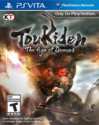Toukiden: The Age of Demons - North American cover art