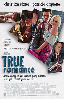 <i>True Romance</i> 1993 film by Tony Scott