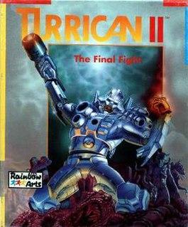 <i>Turrican II: The Final Fight</i> 1991 video game