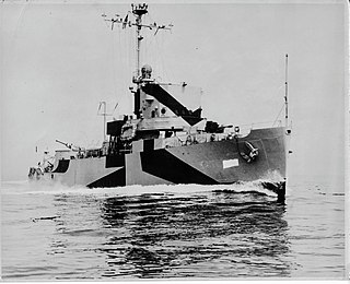 USS <i>Shelter</i> (AM-301) Admirable-class minesweeper of the United States Navy